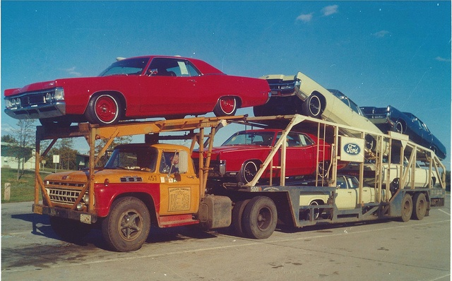 1970 Mercurys by PAcarhauler, via Flickr