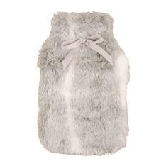 hot water bottle faux fur