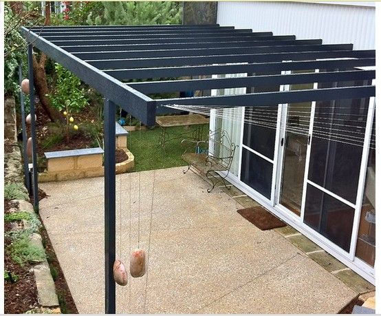 53 best images about metal pergolas on pinterest metal carports modern and steel pergola - Modern prieel aluminium ...