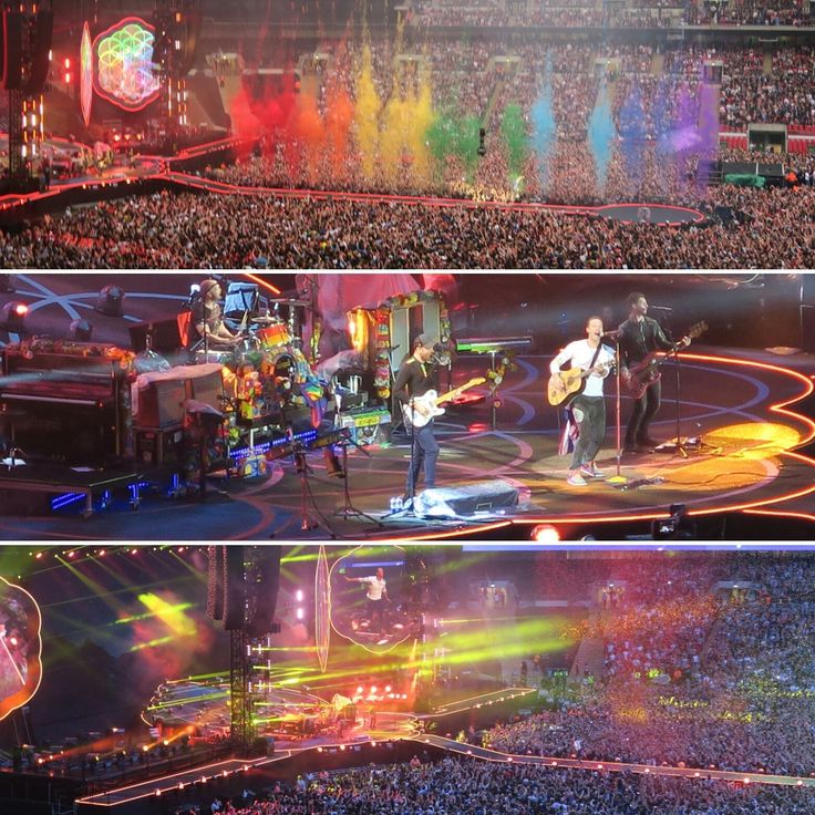 Coldplay concerts are the coolest thing ever