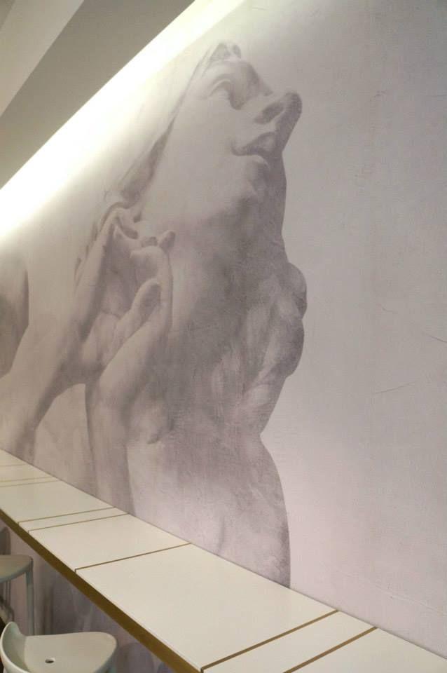 """Progetto Arch. Silvia Brocchini Realizzazione G-Arredamenti  Café In..   Piazza Cavour n.3 _Ancona  Il """"Café In.."""" è un piccolo locale di appena 25mq che si affaccia sui portici di Piazza Cavour in Ancona. www.g-arredamenti.it"""
