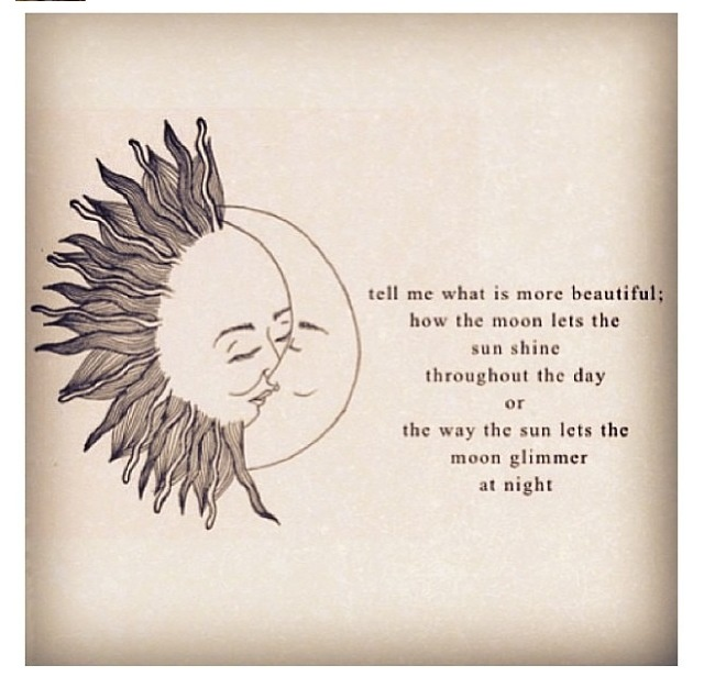 Sun And Moon Quotes: She Is More Beautiful :) She Is My Sun Moon And Stars