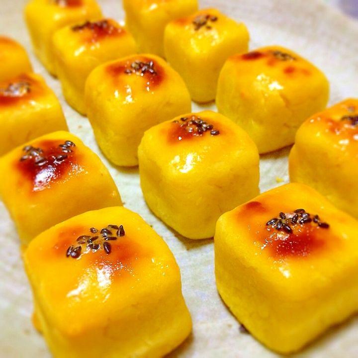 Bite-sized Sweet Potato Cake