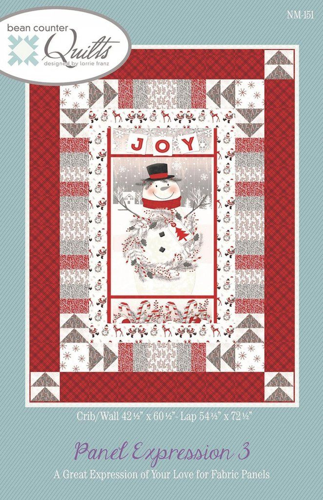Panel Expression 3 Crazy Quilts Patterns Fabric Panel Quilts Panel Quilt Patterns