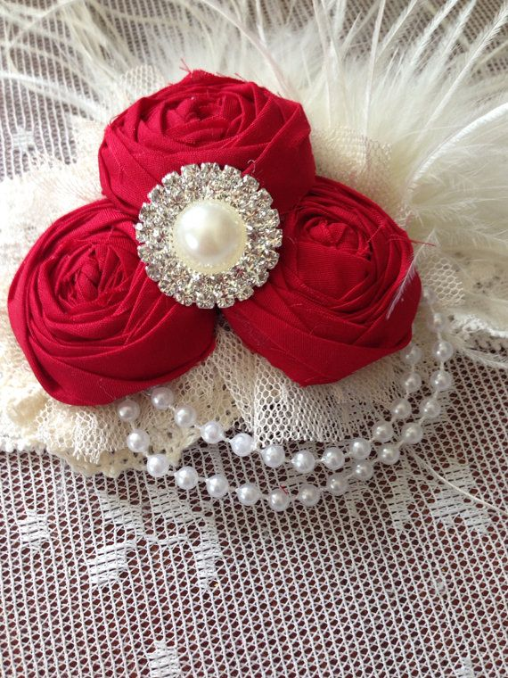 Rosy cheeks headband by LuluJune on Etsy