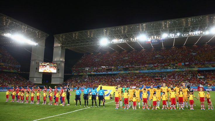 CHILE 3-1 AUSTRALIA 13/6/2014