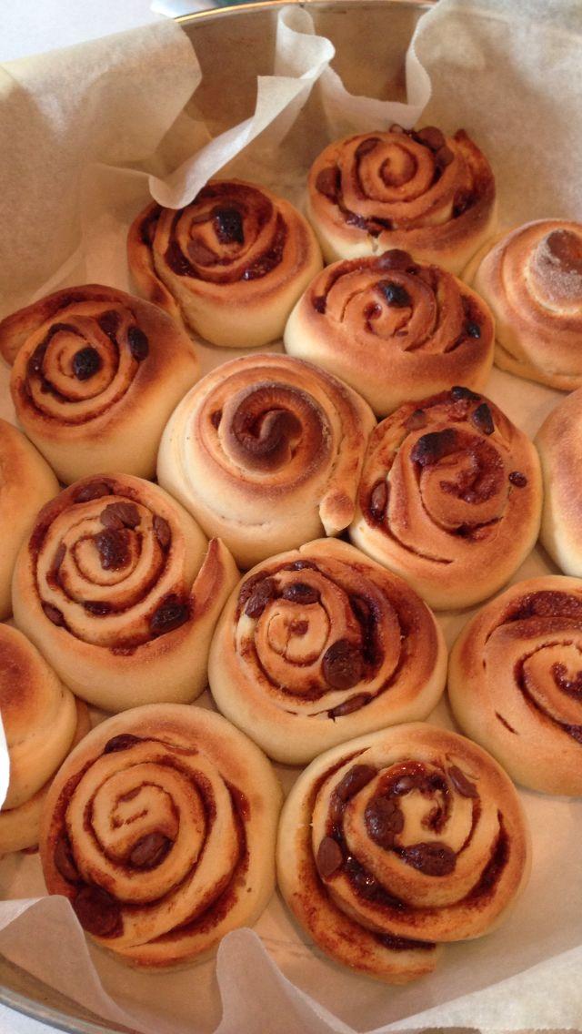 Choccie & Cinnamon Scrolls