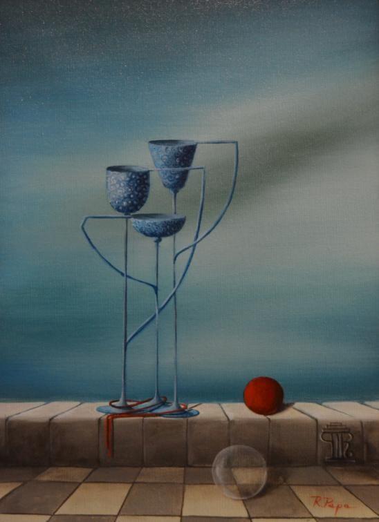 Compoziţie – Ruxandra Papa – 2333 lei   EliteArtGallery - galerie de artă