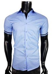 Koszula męska w kolorze błękitnym