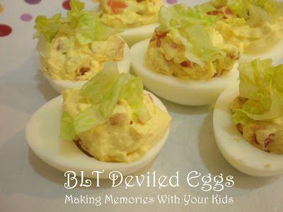 BLT Deviled Eggs: Place, Top, Kid
