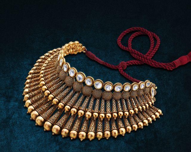gold jewellery by hazoorilal jewellers
