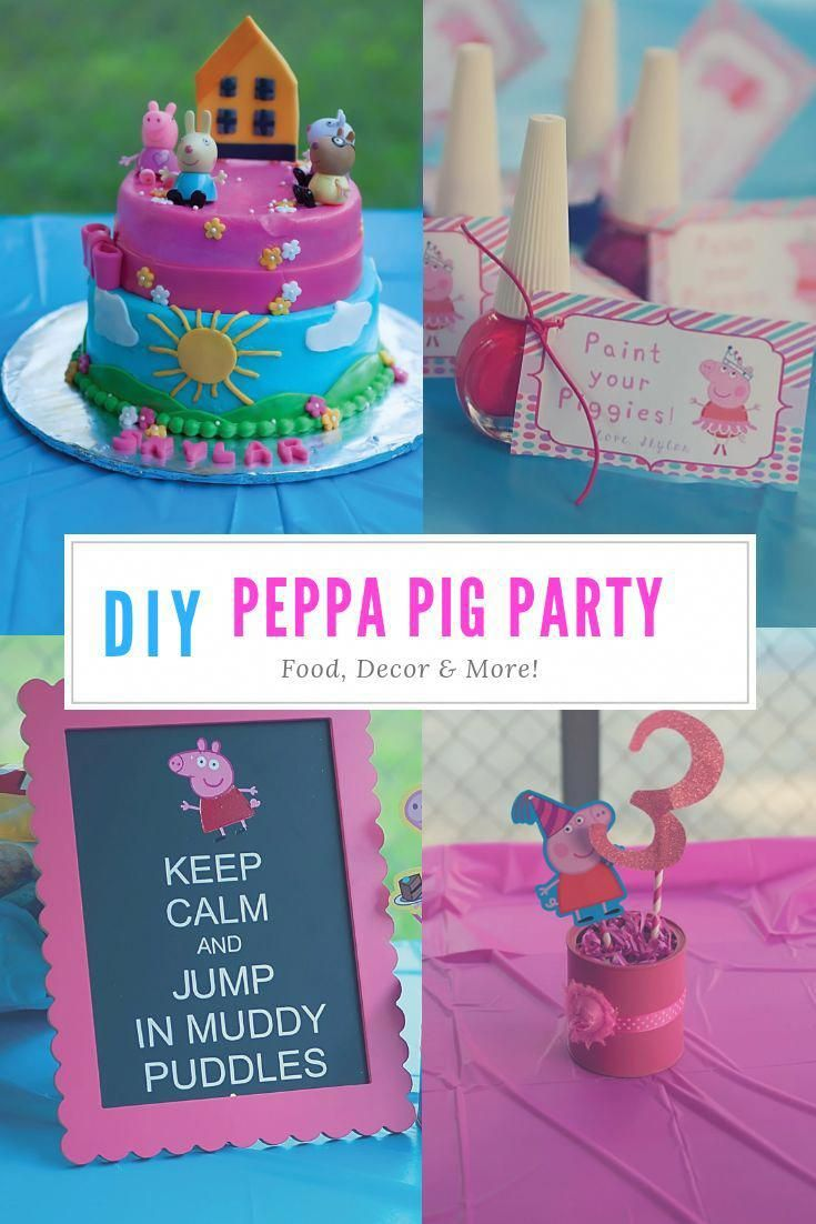 Looking For Peppa Pig Party Ideas Check Out This Post Filled With Pepp Peppa Pig Birthday Party Decorations Peppa Pig Birthday Pig Birthday Party Decorations