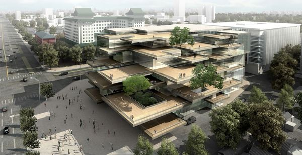 Roof Garden Huangdu Art Center