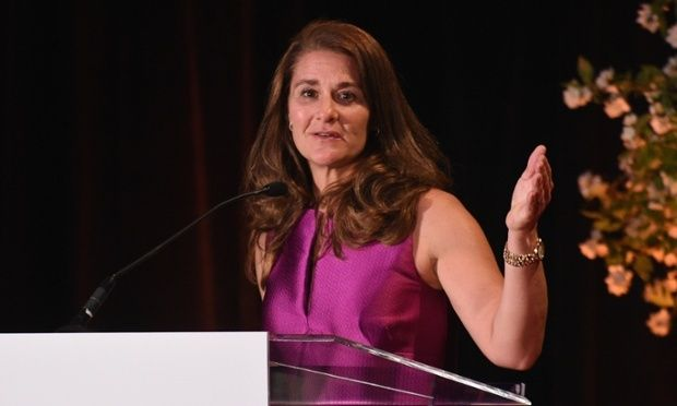 Leading health charities should divest from fossil fuels, say climate scientists. Gates Foundation and Wellcome Trust risk losing moral authority, say researchers including 'hockey stick' graph originator Michael Mann. Photo: Melinda Gates speaking at the New York Public Library | The Guardian, 23 May 2015