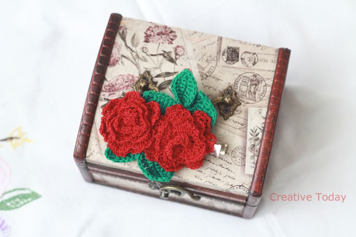 Fall Roses (45 LEI la CreativeToday.breslo.ro)