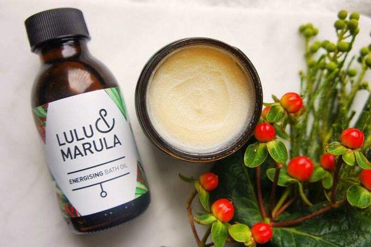 Energising Body Balm and Bath Oil by Lulu & Marula / www.luluandmarula.com