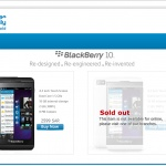 BlackBerry Z10 is a Smash Hit From Canada to Europe to Middle East