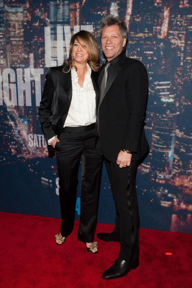 Jack Wagner Wife Ele jon bon jovi and dorothea hurley - photos - stars arrive for snl's