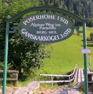 Hike to Poserhöhe