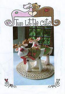 RENOS TIERNOS.-  FUENTE. http://laschorradikasdelaury.blogspot.com/2011/12/preciosos-y-tiernos-renos-de-fieltro.html              Las chorradikas de Laury: preciosos y tiernos renos de fieltro