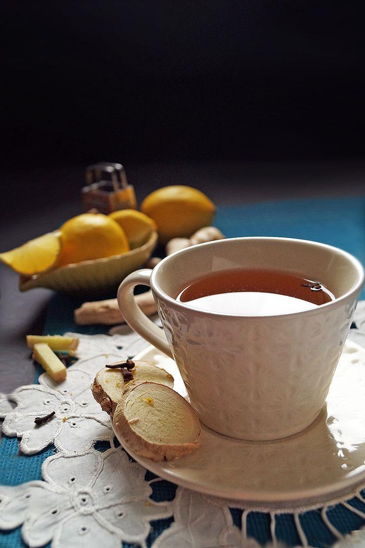 Sprawdź właściwości herbaty imbirowej! Pyszna, rozgrzewająca, zdrowa. #ginger #lemon #gingertea #naturaldrinks