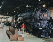 Strasburg, PA --- The Railroad Museum of Pennsylvania.  100 historic locomotives.