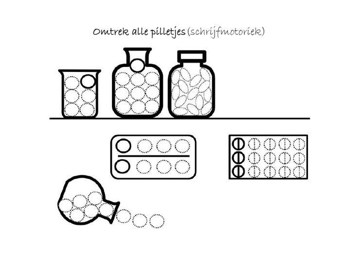 Schrijfmotoriek (Pilletjes)