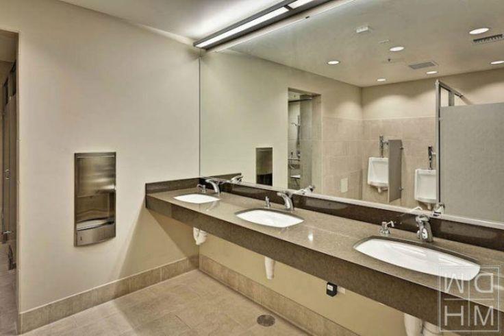 Commercial bathroom lighting
