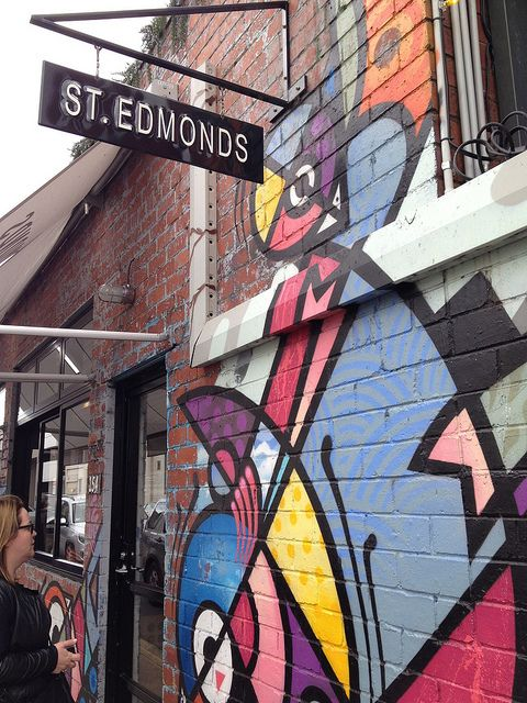 St Edmonds, 154 Greville Street, Prahran www.welove-melbourne.com for the BEST prices on accommodation worldwide and all the info you need on Melbourne! :)   #melbourne #city #urban #australia #art #laneways #coffee #food #shopping #holiday #vacation #hotels #relax #adventure #travel #backpack #dream #inspire #yummy #coffee #food