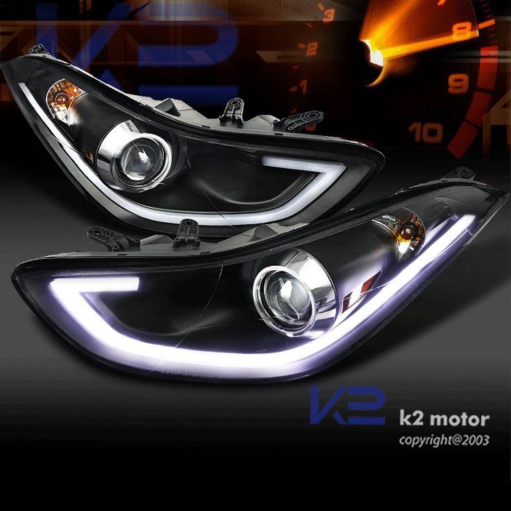 Http Www K2motor Com 11 13 Hyundai Elantra 4dr Drl Led