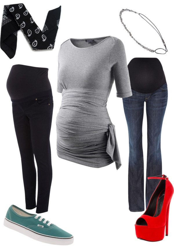 """""""casual and dressier maternity outfits"""" by savannah-marshall on Polyvore"""