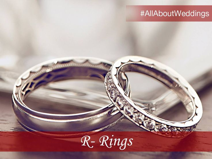 One of the most important pieces of jewelry in your trousseau, wedding rings symbolize promise and commitment. #AllAboutWeddings