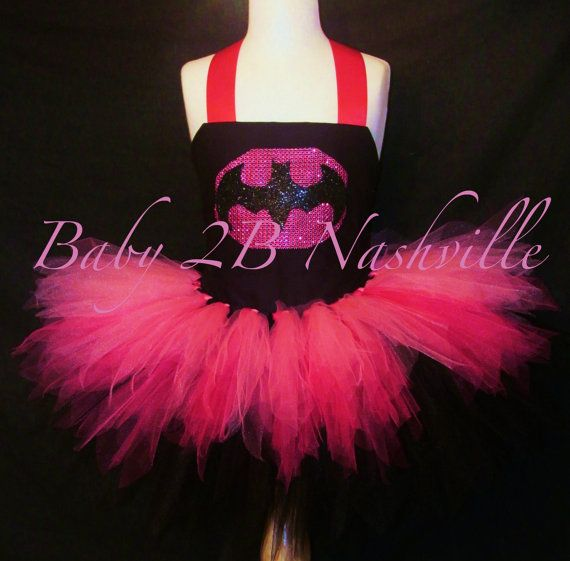 Hey, I found this really awesome Etsy listing at http://www.etsy.com/listing/161834719/pink-batman-costume-tutu-set-superhero