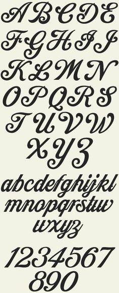 Best 20 font alphabet ideas on pinterest handwriting Cool caligraphy fonts