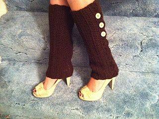 Crochet Leg Warmers!