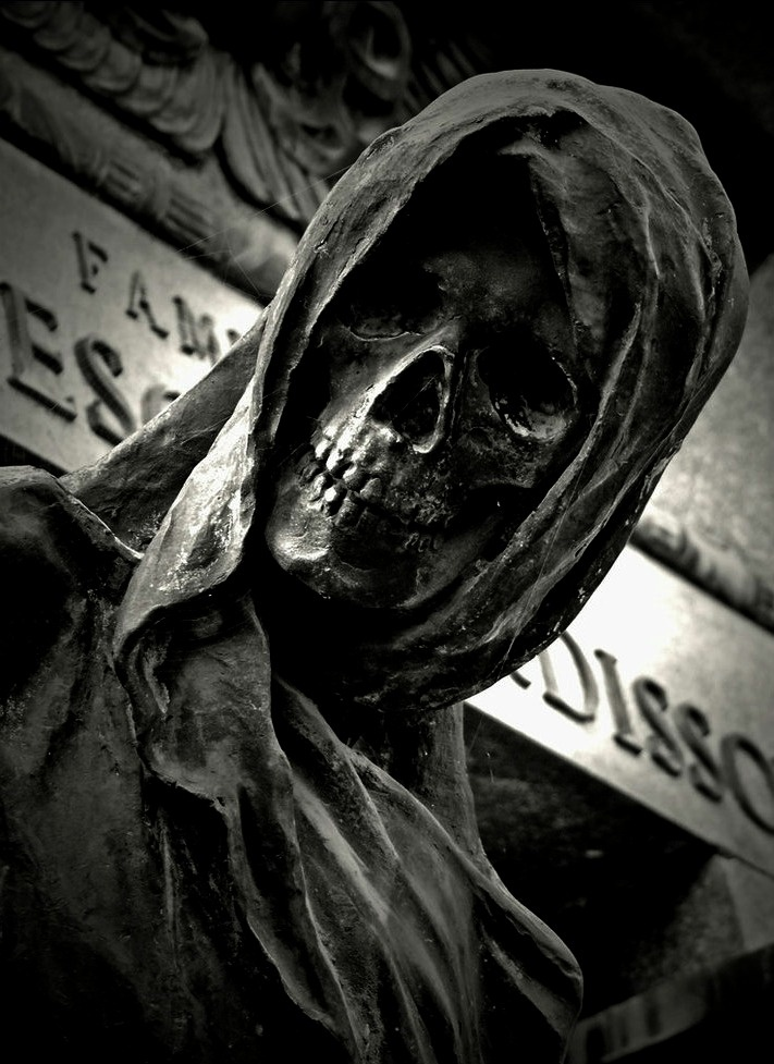 Graveyard Statue | Skulls | Pinterest | Graveyards, Death ...