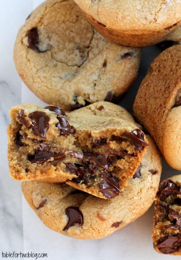 Nutella Lava Cookie Cups