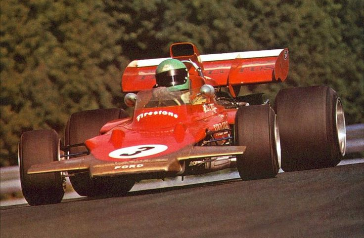 Reine Wisell, Lotus-Ford, 1971 (F1).