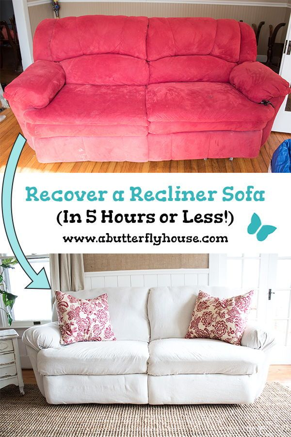 How To Reupholster A Couch Without Removing The Old Fabric