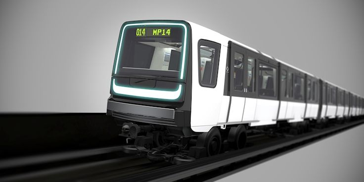 Paris métro ligne 14 nouveau matériel MP14