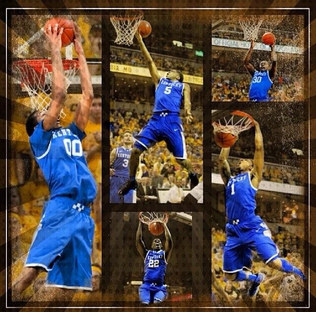 Marcus Lee, Andrew Harrison, Jarrod Polson, Julius Randle, James Young