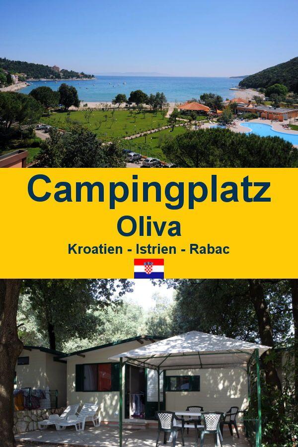Kroatien Rabac Camping Oliva - camping distractiv