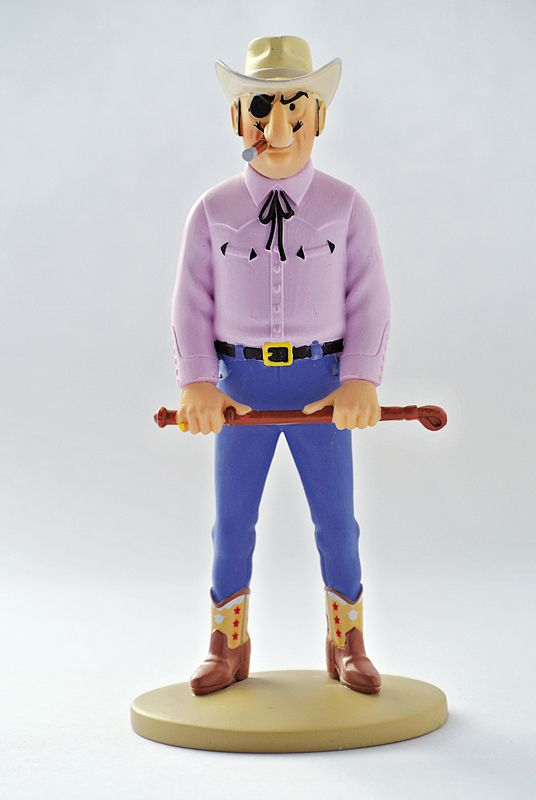 TINTIN FIGURINE NUMERO 45 COLLECTION disponible en France et en Belgique. Référence de la figurine: RASTAPOPOULOS Vol 714 pour Sydney planche 19, case B1