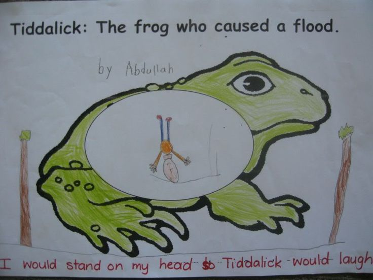 tiddalick the frog activities - Google Search