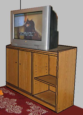 17 best images about television cabinet plans on pinterest a tv diy tv and ana white. Black Bedroom Furniture Sets. Home Design Ideas
