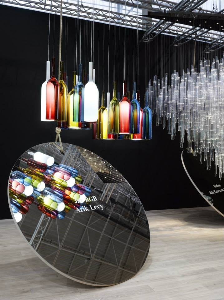 """Jar RGB"" by Arik Levy and ""Bamboo"" by Jitka Kamencova Skuhrava #light #design…"
