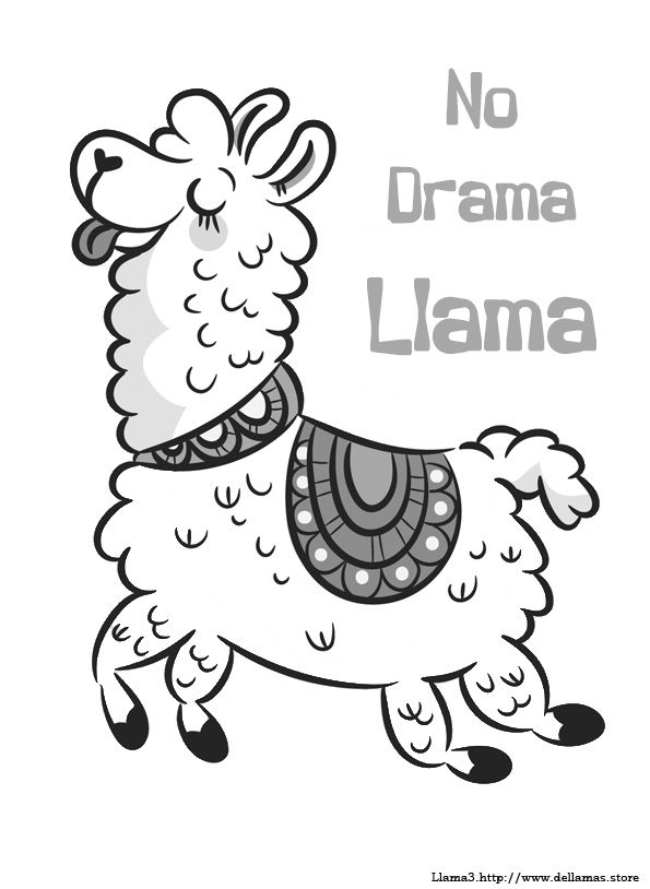 Dibujos De Llamas Para Colorear Y Alpacas Dibujos De Llamas Dibujos Patrones De Bordado