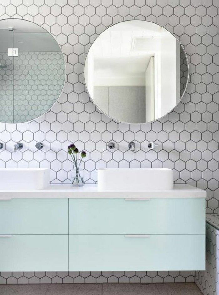 1000 id es sur le th me carrelage hexagonal sur pinterest carrelage carrel - Carrelage hexagonal blanc ...