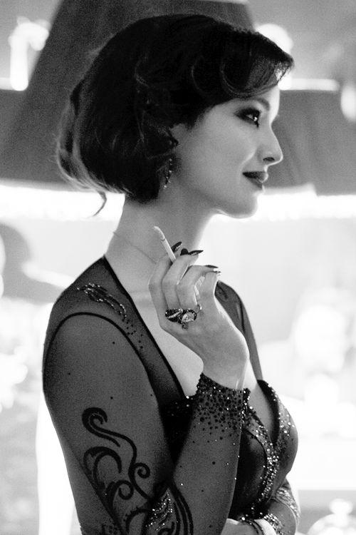Severine looks stunning in Stephen Webster for Swarovski Skyfall Queen Cobra double finger ring.