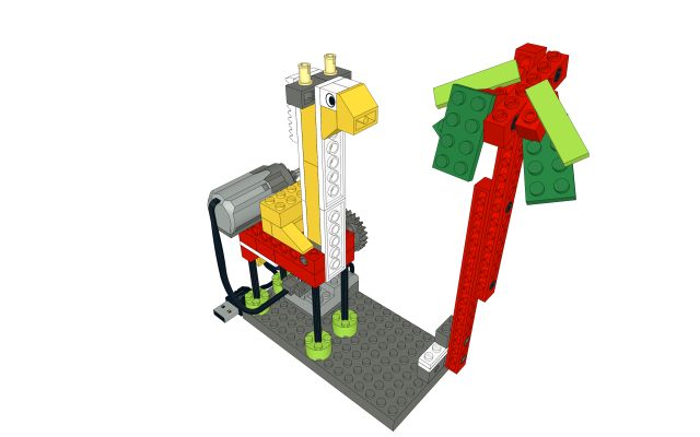 Giraffe LEGO WeDo